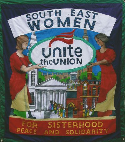 unite union south east women banner 2012